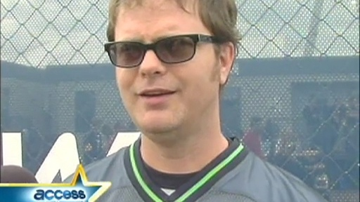 [Rainn Wilson Talks 'Office' Super Bowl Special]