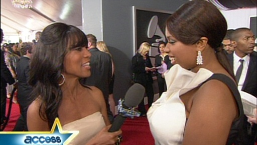 2009 Grammys: Jennifer Hudson Feels 'Blessed' By Support Video