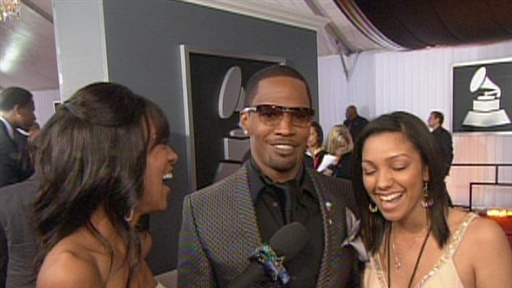 2009 Grammys: Jamie Foxx And His Daughter Video