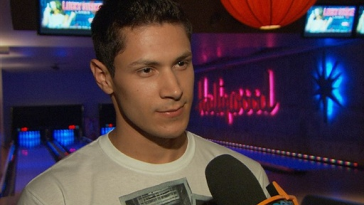 Alex Meraz Talks Bulking up for 'Breaking Dawn' Video
