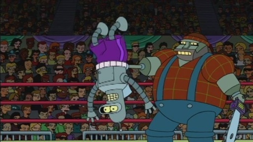 Bender Fights The Clear Cutter Video