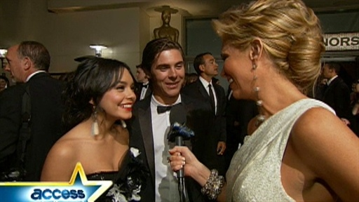 2009 Oscars Governor&#39;s Ball: Zac Efron And Vanessa Hudgens Video