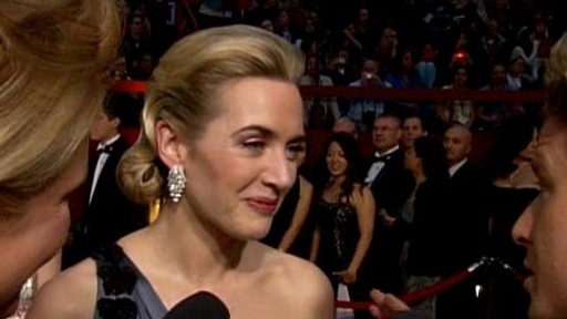 Oscars 2009: Kate Winslet Video