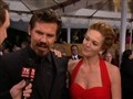SAG Awards 2009: Josh Brolin & Diane Lane