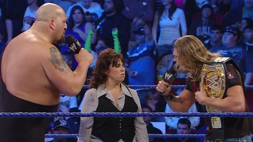 [Edge and Vickie Guerrero Confront Big Show]