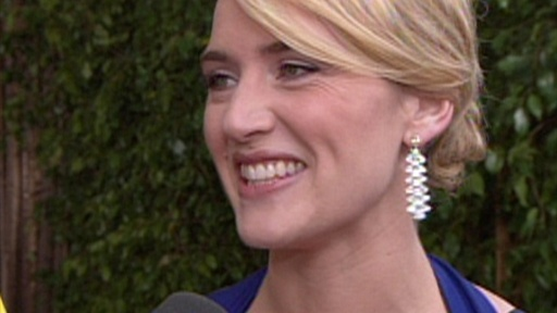 Kate Winslet's Awards Show Luck Video