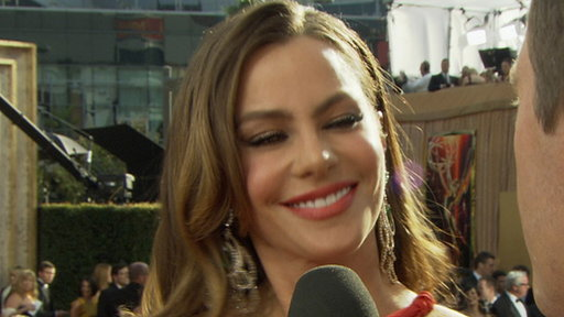 2011 Emmy Awards Red Carpet: Sofia Vergara Looks Like a... Trans Video