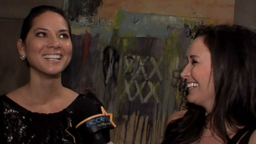 Olivia Munn Gets Emotional on the Set of 'Perfect Couples' Video