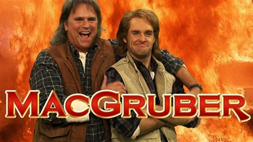 MacGruber with MacGyver Video