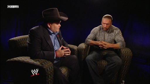 J.R. Interviews Triple H Video