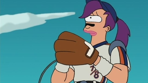 [Leela's First Major League Game]