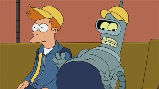 [Bender Delivers an Ale]