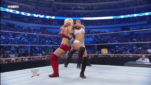 Gail Kim and Maria Vs. Michelle McCool and Maryse Video