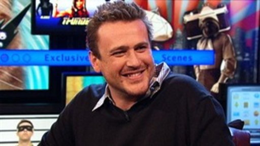 "Jason Segel Talks About ""The Muppets"" Video"