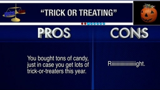 Pros and Cons: Trick-or-Treating Video