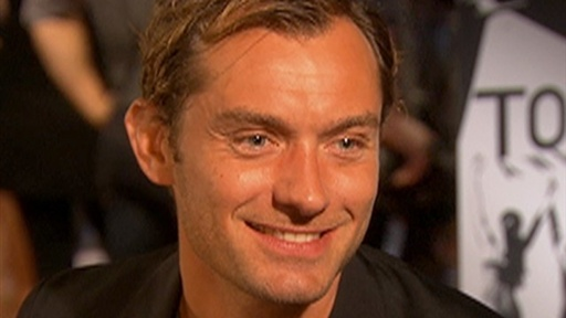 [Jude Law On Reuniting With Sienna Miller: 'I'm Very Happy']