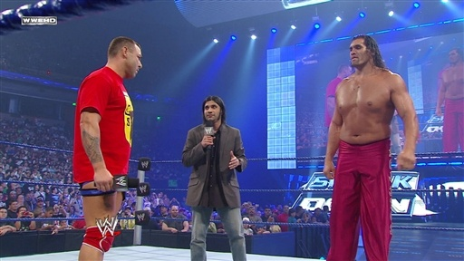 Santino Marella Vs. Great Khali Video