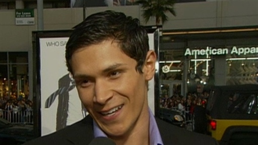 [Werewolf Alex Meraz Talks 'New Moon']