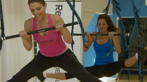 Brooke Burke Teaches The Cirque Du Soleil Workout For Women Video