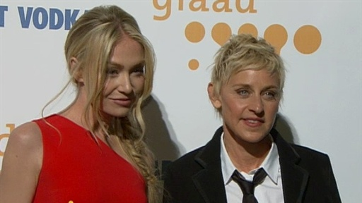 Ellen DeGeneres And Portia de Rossi Talk Lindsay Lohan Video