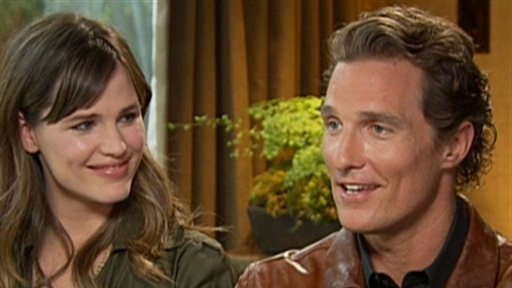 [Jennifer Garner And Matthew McConaughey Talk 'Ghosts']