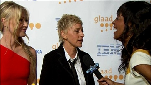 Backstage At The 20th Annual GLAAD Media Awards, LA view on break.com tube online.