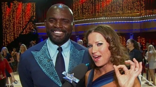 ['DWTS' Says Goodbye To Lawrence Taylor]