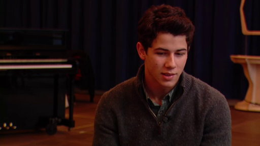 Nick Jonas Talks Returning to Broadway in 'How to Succeed in Bus Video