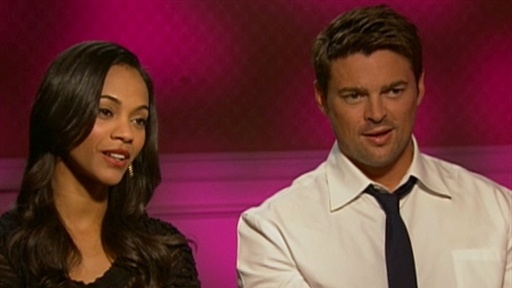 [Zoe Saldana And Karl Urban Talk 'Star Trek']