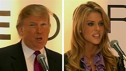 Donald Trump Announces Miss California's Fate Video