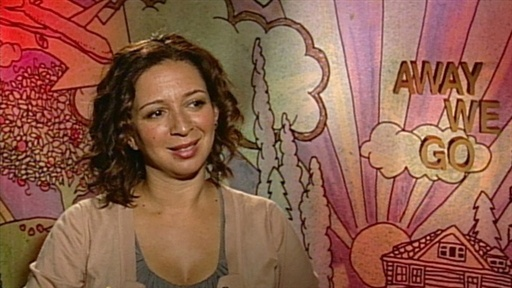 [Maya Rudolph Talks 'Away We Go']