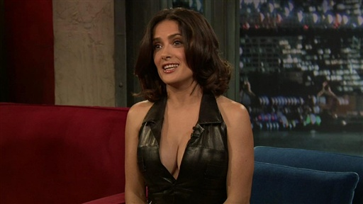 [Salma Hayek Pinault Talks World Cup] Video