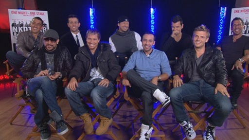 The New Kids On the Block and the Backstreet Boys Talk Touring T Video