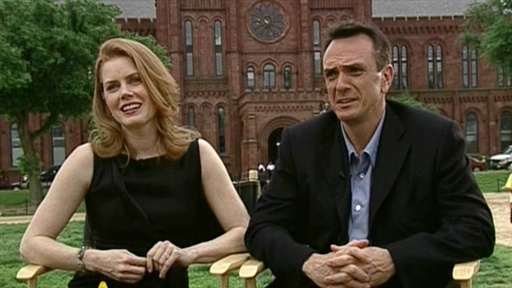 [Amy Adams and Hank Azaria Talk 'Night At The Museum 2']
