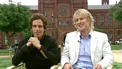 Ben Stiller and Owen Wilson Talk 'Night At The Museum 2' Video