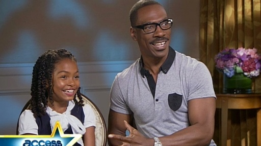 Eddie Murphy and Yara Shahidi Talk 'Imagine That' Video