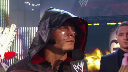 [Cody Rhodes berates the WWE Universe in Hershey, Pa.]