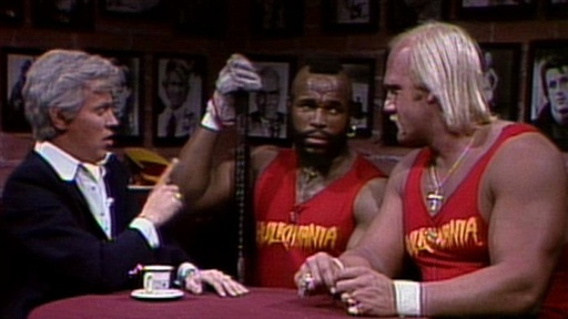 [Fernando: Hulk Hogan and Mr. T]