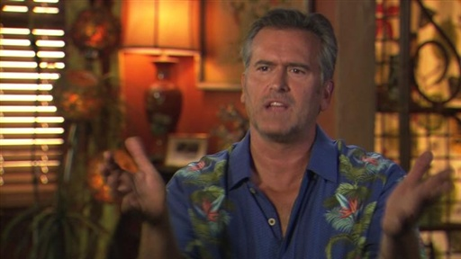 Bruce Campbell on Sam's Character Arc Video