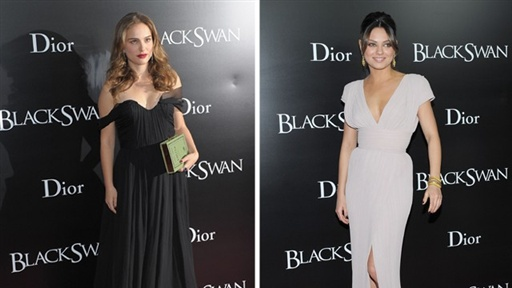 Natalie and Mila at the 'Black Swan,' NYC Premiere Video