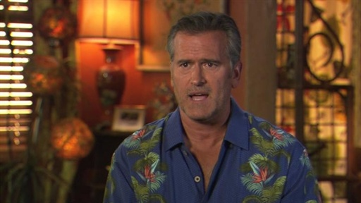 Bruce Campbell on New Villains and Clients Video