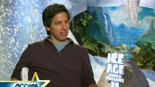 [Ray Romano Talks 'Ice Age: Dawn Of The Dinosaurs']