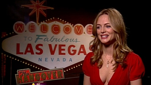 [Heather Graham Talks 'The Hangover']