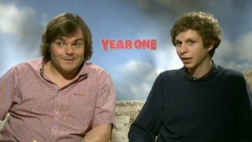 Jack Black and Michael Cera Talk 'Year One' Video