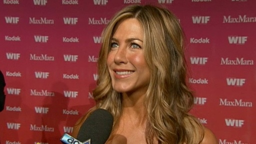Jennifer Aniston and More Honored At 2009 Women In Film Video