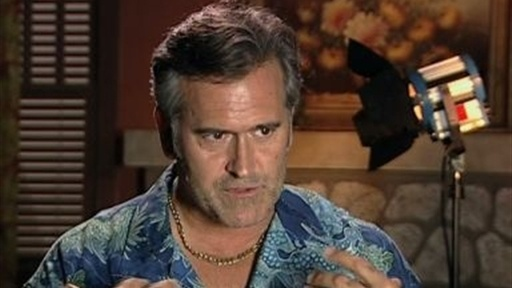 Bruce Campbell on the Future Video