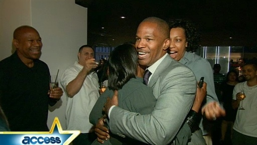 Inside Jamie Foxx&#39;s Surprise Record Party Video