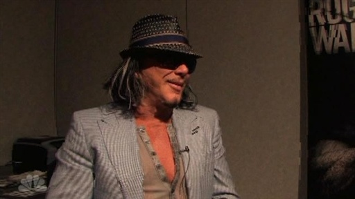 Behind the Scenes: Mickey Rourke E3 Outtakes Video