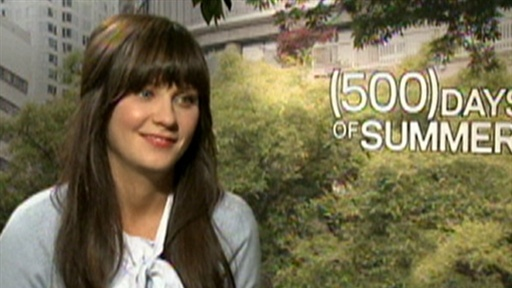 Zooey Deschanel Talks &#39;(500) Days Of Summer&#39; Video
