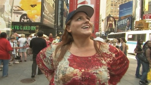 Ruby's Walk Across America: NYC Video
